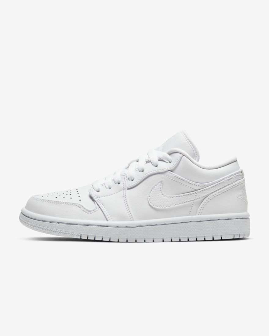 나이키 조던1 로우 여성용 AO9944-111 Nike Air Jordan 1 Low,White/White/White
