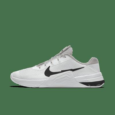 Мужские кроссовки для тренинга с индивидуальным дизайном Nike Metcon 7 By You - Белый