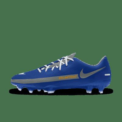 Nike Phantom GT Academy By You Custom Multi-Ground Football Boot - Blue