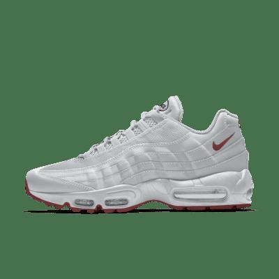 Мужские кроссовки с индивидуальным дизайном Nike Air Max 95 By You - Белый