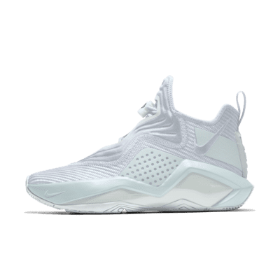 LeBron Soldier 14 By You Custom Basketball Shoe - White