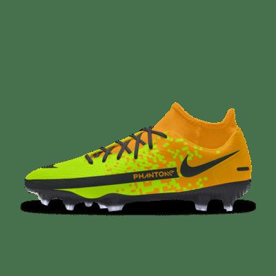 Nike Phantom GT Academy By You Custom Multi-Ground Football Boot - Orange