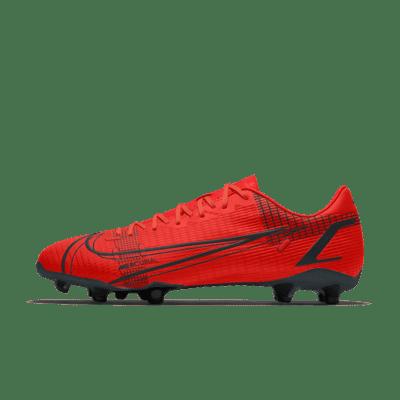 Футбольные бутсы с индивидуальным дизайном Nike Mercurial Vapor 14 Academy By You - Красный