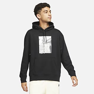 Nike SB Mintás, gördeszkás kapucnis pulóver