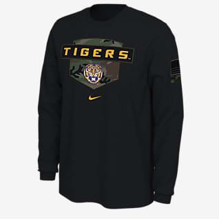 Nike College (LSU) Men's Long-Sleeve T-Shirt