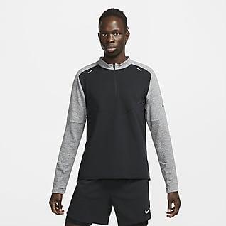 Nike Pinnacle Run Division Mellanlagertröja för män