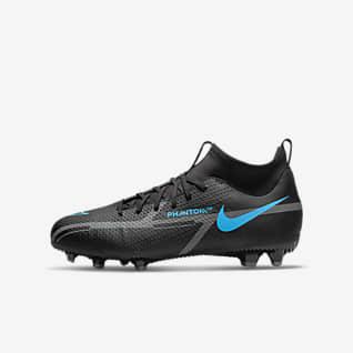 Nike Jr. Phantom GT2 Academy Dynamic Fit MG Ποδοσφαιρικό παπούτσι για διαφορετικές επιφάνειες για μικρά/μεγάλα παιδιά