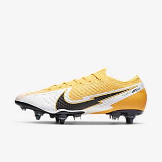 Nike Mercurial Vapor 13 Elite SG-PRO Anti-Clog Traction Chaussure de football à crampons pour terrain gras