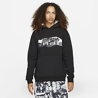Jordan Essential Men's Fleece Graphic Hoodie