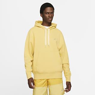 Nike Sportswear Felpa pullover classica in fleece con cappuccio - Uomo
