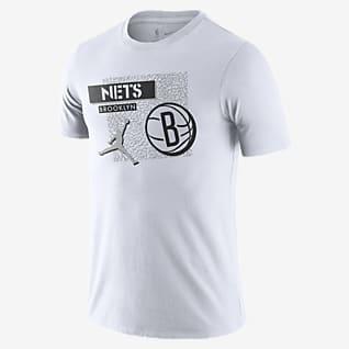 Brooklyn Nets Jordan Dri-FIT NBA-s férfipóló