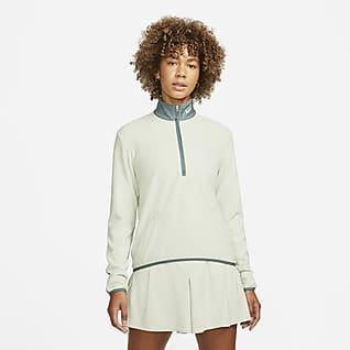 Nike Therma-FIT Victory Women's Long-Sleeve 1/2-Zip Golf Top