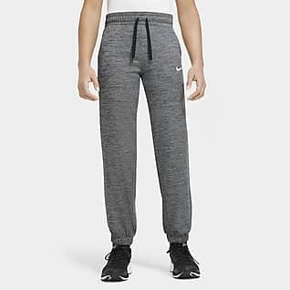 Nike Therma Pantalones de entrenamiento para niña talla grande