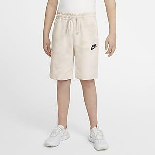 Nike Sportswear Magic Club Shorts med batikmönster för ungdom (killar)