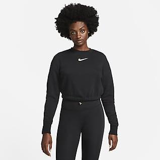 Nike Sportswear Damska bluza dresowa z dzianiny do tańca