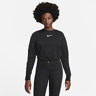 Nike Sportswear Sweatshirt de dança de lã cardada para mulher