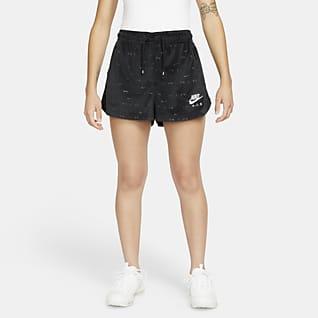 Nike Air Velours damesshorts met halfhoge taille