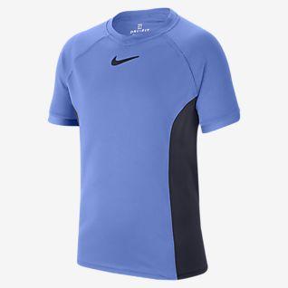 NikeCourt Dri-FIT Maglia da tennis a manica corta - Ragazzo