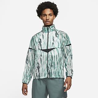 Nike Windrunner Wild Run Pánská běžecká bunda s potiskem
