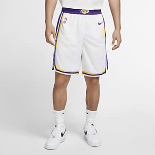 Los Angeles Lakers Spodenki męskie Nike NBA Swingman