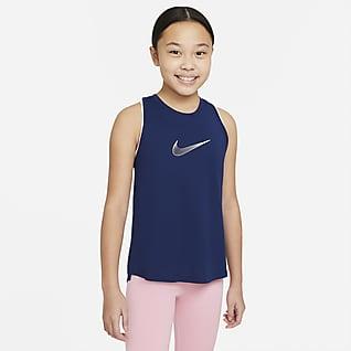 Nike Dri-FIT Trophy เสื้อกล้ามเทรนนิ่งเด็กโต (หญิง)