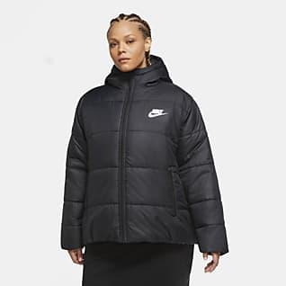 Nike Sportswear Synthetic-Fill Kadın Ceketi (Büyük Beden)