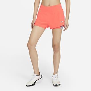 Nike Eclipse 2-i-1 løpeshorts til dame