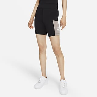 Nike Sportswear Heritage กางเกงปั่นจักรยานขาสั้นผู้หญิง