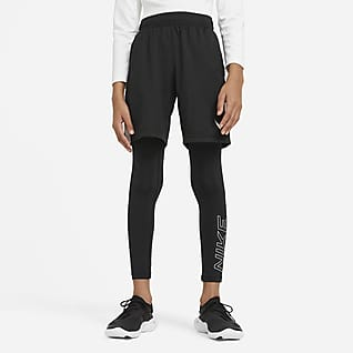 Nike 大童(男孩)印花训练紧身裤