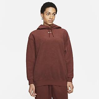 Nike Sportswear Essentials Luksus-hættetrøje til kvinder