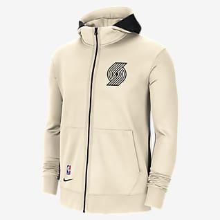 Portland Trail Blazers Showtime City Edition Men's Nike Therma Flex NBA Hoodie
