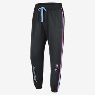 Miami Heat Showtime City Edition Pantaloni Nike Therma Flex NBA - Uomo