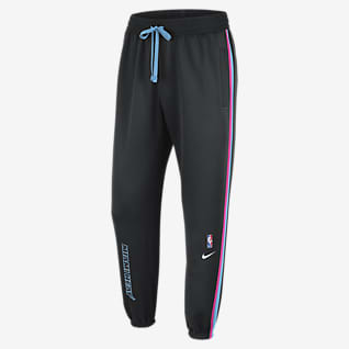 Miami Heat Showtime City Edition Pantaloni Nike Therma Flex NBA - Uomo