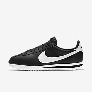 Black Cortez Shoes. Nike.com
