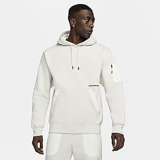 Jordan 23 Engineered เสื้อมีฮู้ดผ้าฟลีซผู้ชายแบบสวม