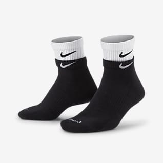 Nike Everyday Plus Cushioned Trainings-Knöchelsocken (3 Paar)