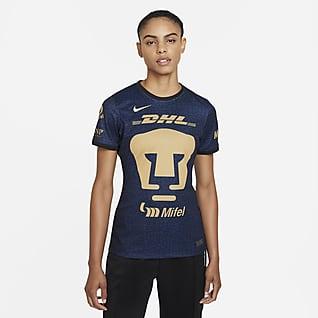 Pumas UNAM visitante 2021/22 Stadium Jersey de fútbol Nike Dri-FIT para mujer