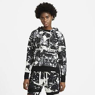 Nike Standard Issue Sudadera con capucha de baloncesto - Mujer