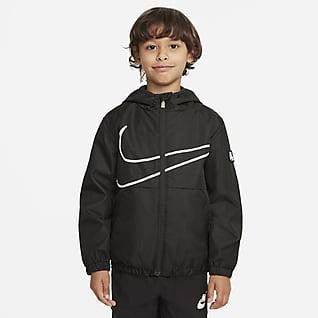 Nike Sportswear Windrunner Hosszú cipzáras kabát kisebb gyerekeknek