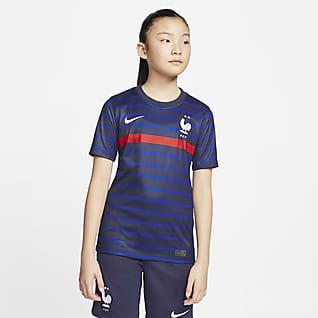 FFF 2020 Stadium Home Camiseta de fútbol para niños talla grande