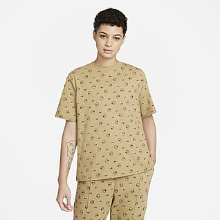 Nike Sportswear T-shirt med tryck för kvinnor