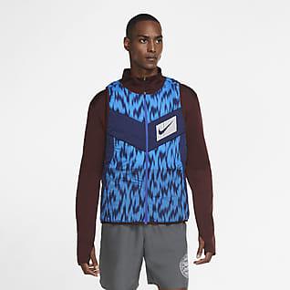 Nike Aerolayer Wild Run Løpevest til herre
