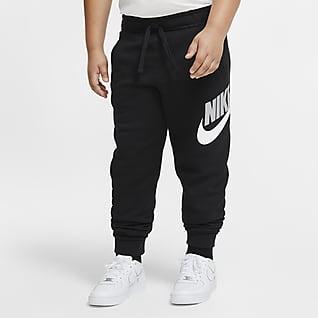 Nike Sportswear Club Fleece Kalhoty pro větší děti (chlapce) (rozšířená velikost)