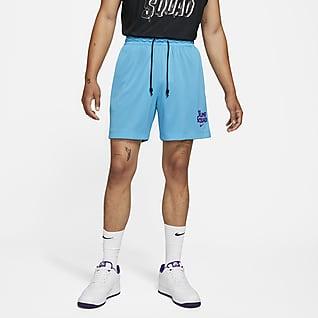 Nike Dri-FIT Standard Issue x Space Jam: A New Legacy Basketball-Shorts mit wendbarem Design für Herren