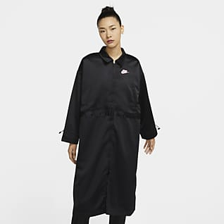 Nike Sportswear Icon Clash Women's Satin Long Jacket