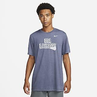Nike Men's Tri-Blend Lacrosse T-Shirt