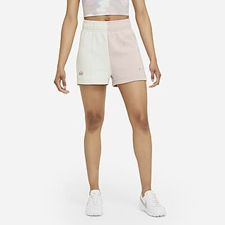 Nike Sportswear Calções de lã cardada para mulher