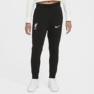 Liverpool FC Tech Fleece Pantalones para niños talla grande