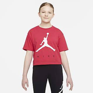 Jordan Playera para niña talla grande
