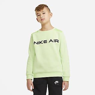 Nike Air Mikina skulatým výstřihem pro větší děti (chlapce)